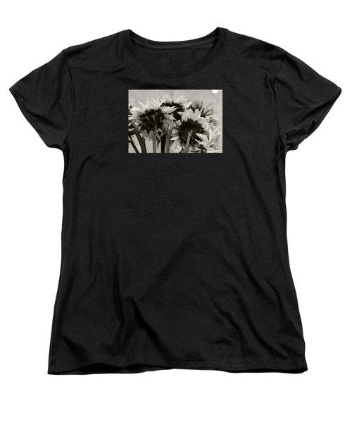 Sunflower 3 Women's T-Shirt (Standard Cut) by Simone Ochrym