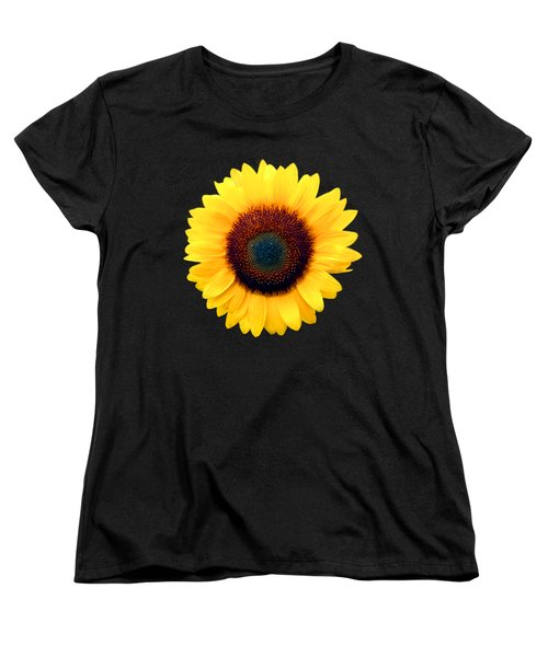 Sunflower Women's T-Shirt (Standard Cut) by Bob Slitzan