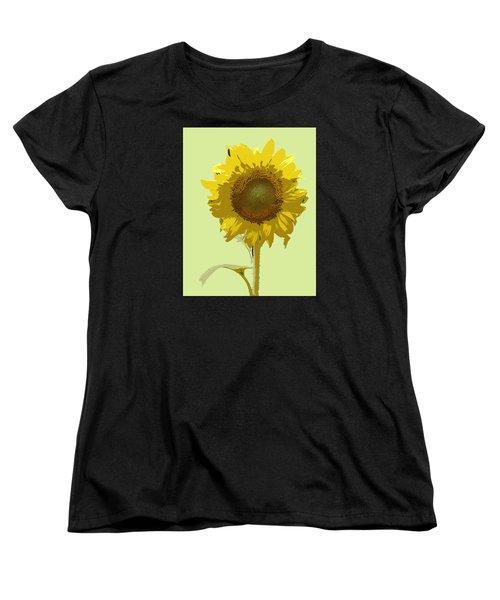Sunflower Women's T-Shirt (Standard Cut) by Karen Nicholson