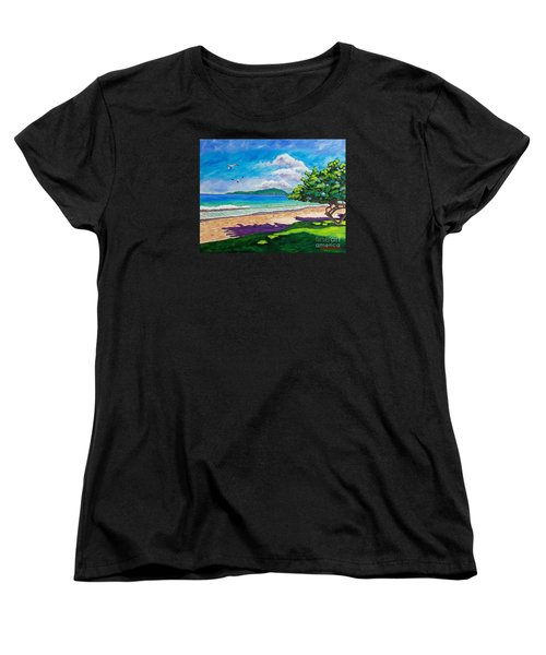 Sunlit Women's T-Shirt (Standard Cut) by Laura Forde