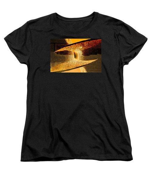 Sunlit Yellow Women's T-Shirt (Standard Cut) by Don Gradner
