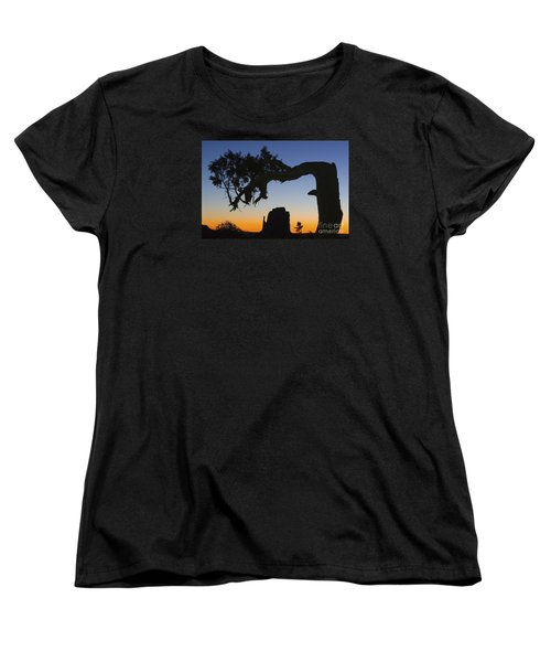 Sunrise At East Mitten Women's T-Shirt (Standard Cut) by Jerry Fornarotto