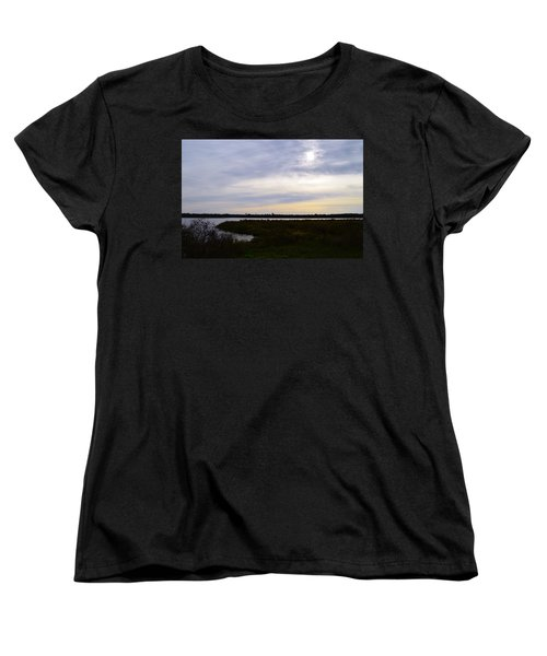 Sunrise At Orange Creek Women's T-Shirt (Standard Cut) by Warren Thompson
