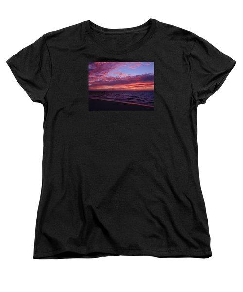 Sunrise On Sanibel Island Women's T-Shirt (Standard Cut) by Melinda Saminski
