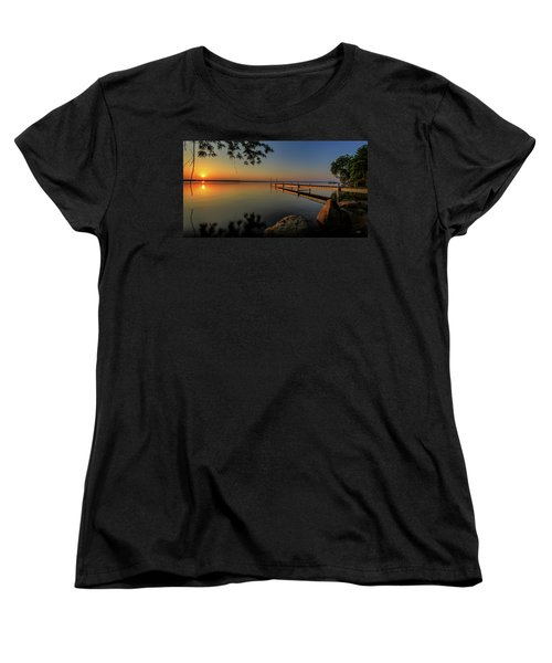 Sunrise Over Cayuga Lake Women's T-Shirt (Standard Cut) by Everet Regal
