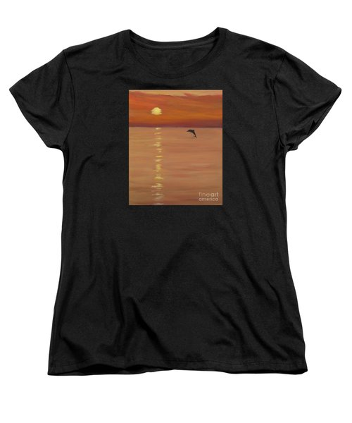 Sunrise Surprise Women's T-Shirt (Standard Cut) by Anne Marie Brown