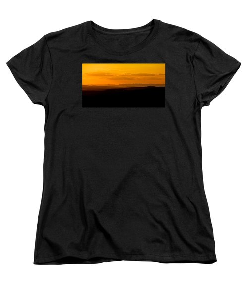 Women's T-Shirt (Standard Cut) featuring the photograph Sunset by Evgeny Vasenev