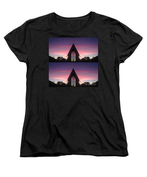 Sunset Hues And Views Women's T-Shirt (Standard Cut) by Nora Boghossian
