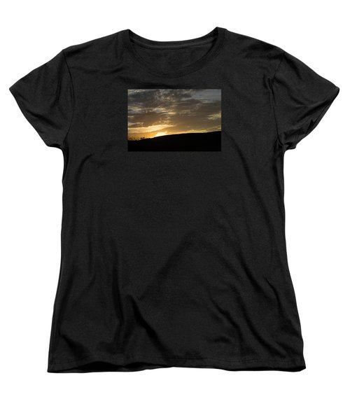 Sunset On Hunton Lane #3 Women's T-Shirt (Standard Cut) by Carlee Ojeda