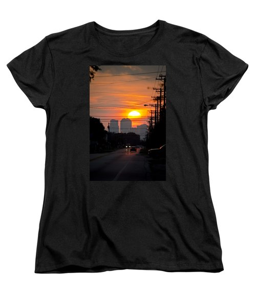 Sunset On The City Women's T-Shirt (Standard Cut)