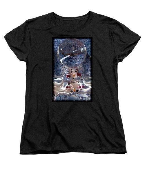 Sunshine Melts A Snowman's Heart Women's T-Shirt (Standard Cut)