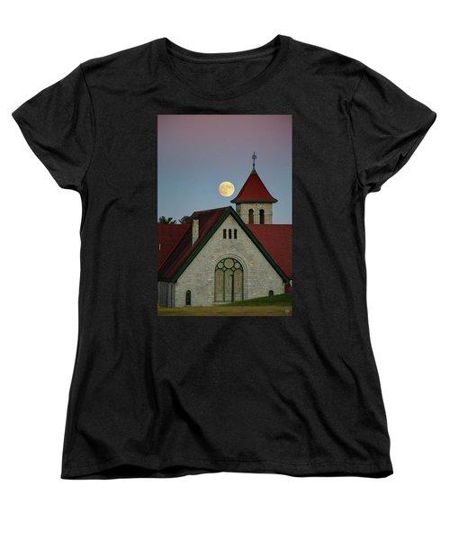 Super Moon Rising Women's T-Shirt (Standard Cut)