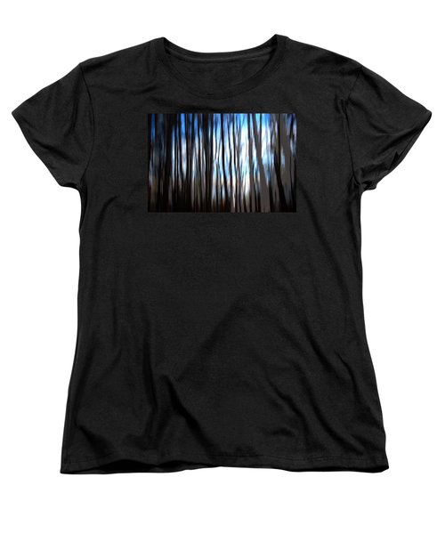 Swampland  Women's T-Shirt (Standard Cut) by Terence Morrissey