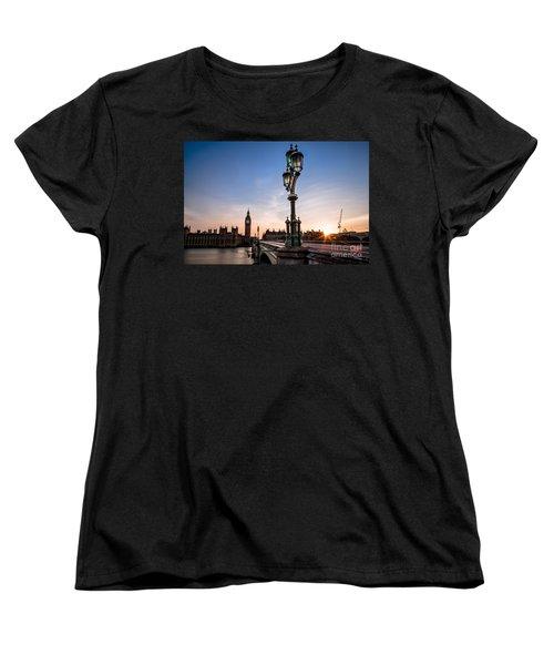 Swapping Lights Women's T-Shirt (Standard Cut) by Giuseppe Torre