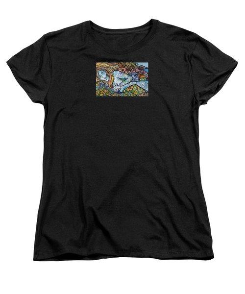 Sweet Dreams Women's T-Shirt (Standard Cut) by Claudia Cole Meek