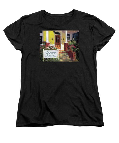 Women's T-Shirt (Standard Cut) featuring the painting Sweet Dreams by Julie Maas