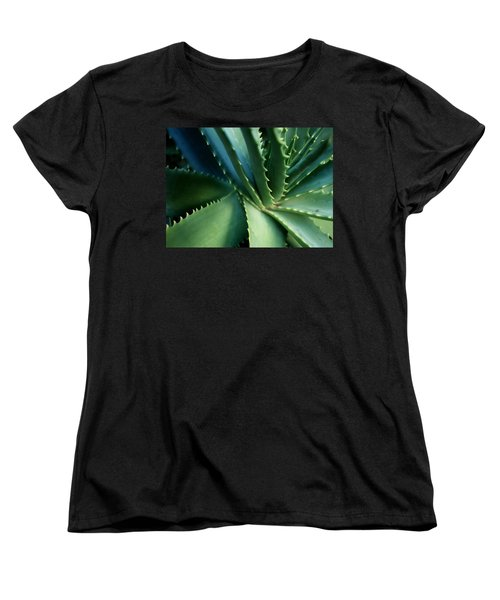 Swirl Women's T-Shirt (Standard Cut) by Ellen Cotton