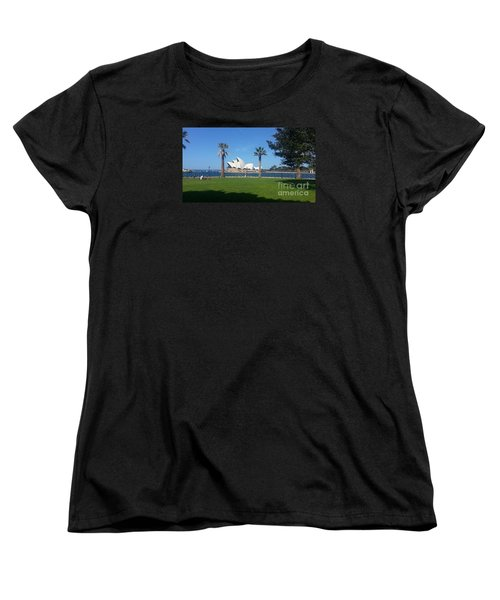Women's T-Shirt (Standard Cut) featuring the photograph Sydney Opera House  by Bev Conover