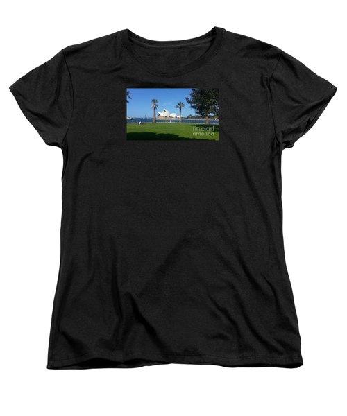 Sydney Opera House  Women's T-Shirt (Standard Cut) by Bev Conover