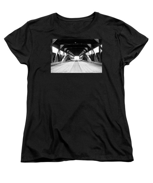 Taftsville Covered Bridge Women's T-Shirt (Standard Cut)