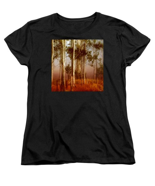 Tall Timbers Women's T-Shirt (Standard Cut) by Holly Kempe