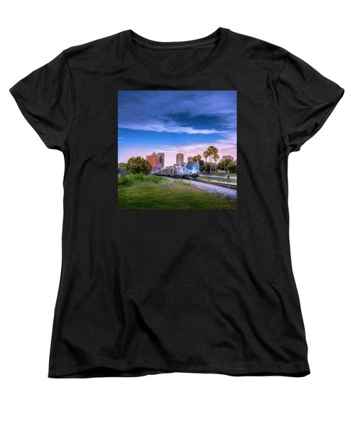 Women's T-Shirt (Standard Cut) featuring the photograph Tampa Departure by Marvin Spates