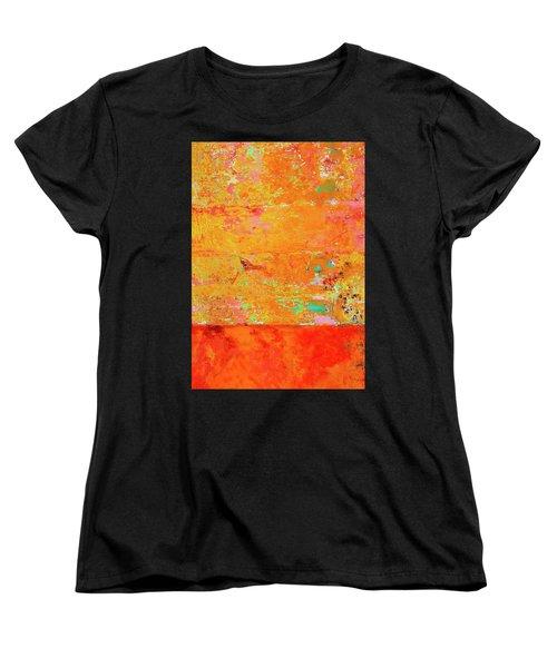 Women's T-Shirt (Standard Cut) featuring the photograph Tangerine Dream by Skip Hunt