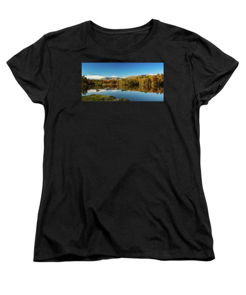 Tarn Hows Women's T-Shirt (Standard Cut) by Mike Taylor