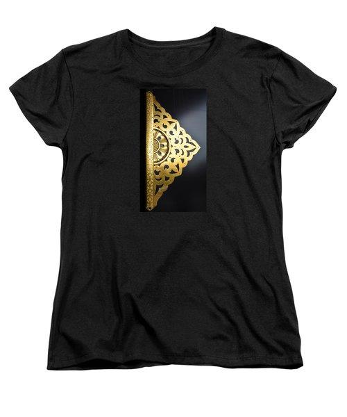 Women's T-Shirt (Standard Cut) featuring the photograph Temple Detail by Corinne Rhode
