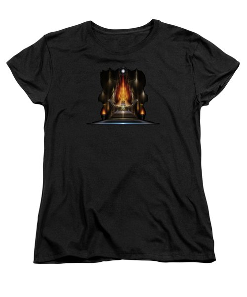 Temple Of Golden Fire Women's T-Shirt (Standard Fit)