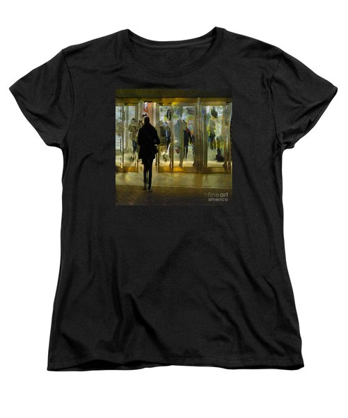 Women's T-Shirt (Standard Cut) featuring the photograph Temptation by LemonArt Photography