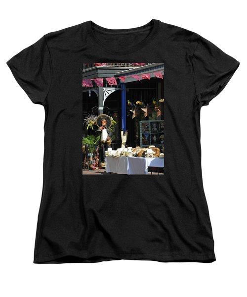 Tex-mex Women's T-Shirt (Standard Cut) by Steven Sparks