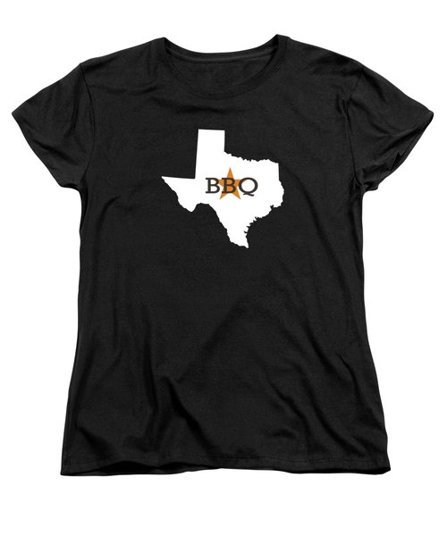 Texas Bbq Women's T-Shirt (Standard Cut) by Nancy Ingersoll