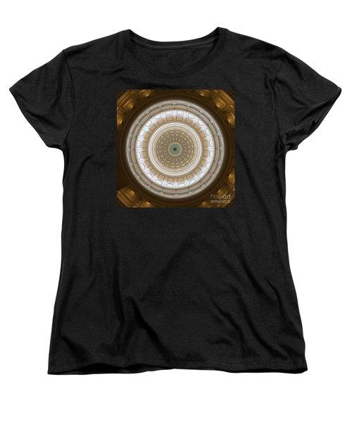 Women's T-Shirt (Standard Cut) featuring the photograph Texas Capital by Robert Meanor