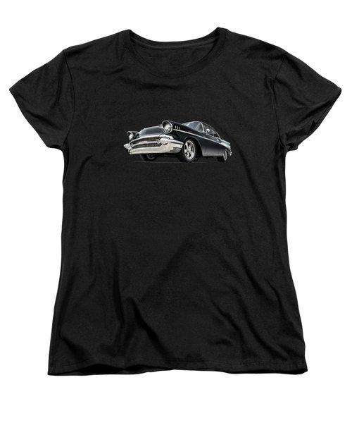 The 57 Chevy Women's T-Shirt (Standard Cut) by Douglas Pittman