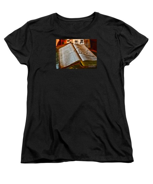 The Accountant's Ledger Women's T-Shirt (Standard Cut) by Paul Ward