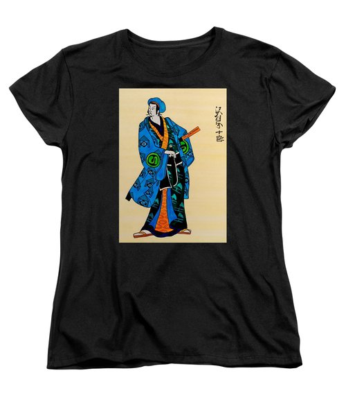 The Age Of The Samurai 03 Women's T-Shirt (Standard Cut) by Dora Hathazi Mendes