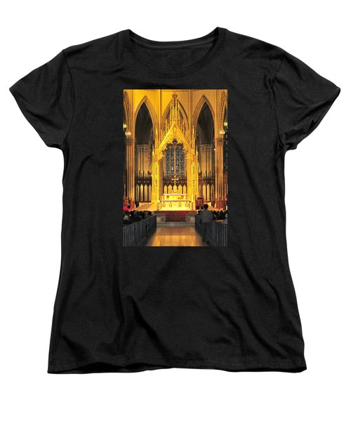 Women's T-Shirt (Standard Cut) featuring the photograph The Alter by Diana Angstadt