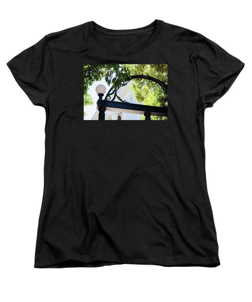Women's T-Shirt (Standard Cut) featuring the photograph The Arch by Parker Cunningham