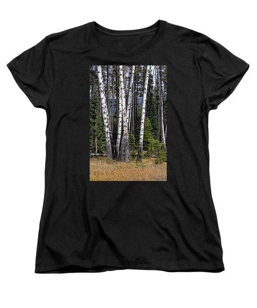 The Aspens Women's T-Shirt (Standard Cut) by John Gilbert