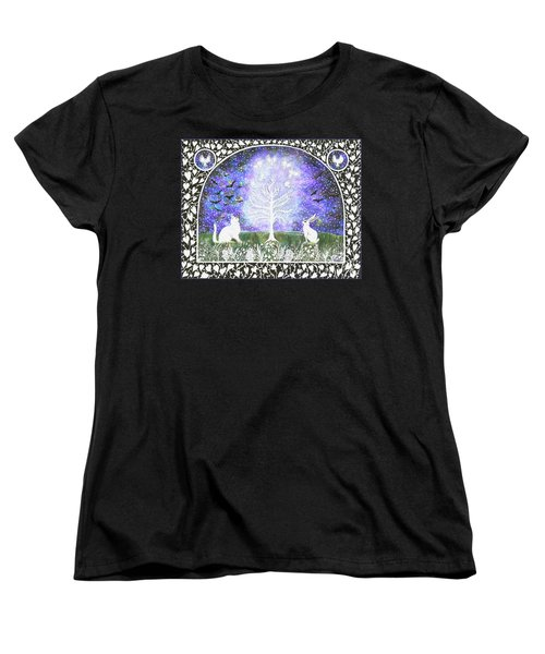 The Attraction Women's T-Shirt (Standard Cut) by Lise Winne