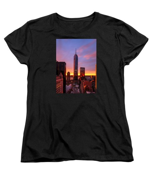 The Beauty Of God Women's T-Shirt (Standard Cut) by Anthony Fields