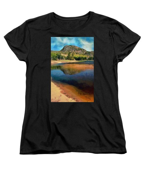 Women's T-Shirt (Standard Cut) featuring the painting The Beehive by Jeff Kolker