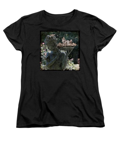 The Bird Bath Women's T-Shirt (Standard Cut) by Chris Lord
