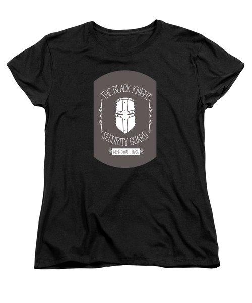 The Black Knight Women's T-Shirt (Standard Cut)