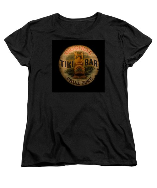 The Chill Zone Women's T-Shirt (Standard Cut) by Trish Tritz