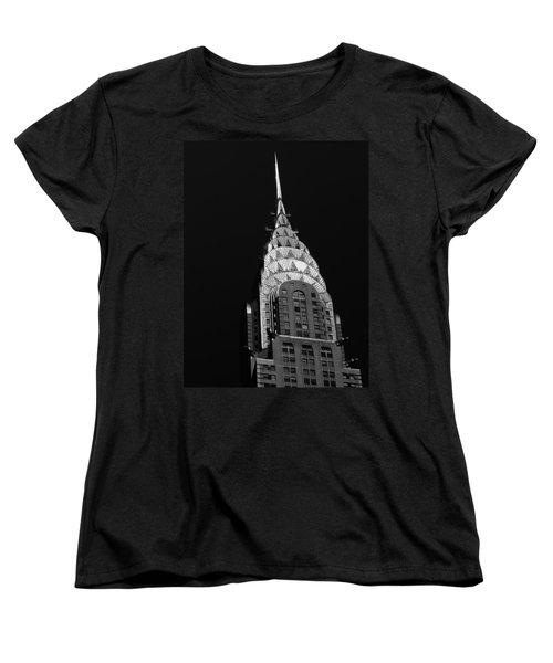 The Chrysler Building Women's T-Shirt (Standard Cut) by Vivienne Gucwa