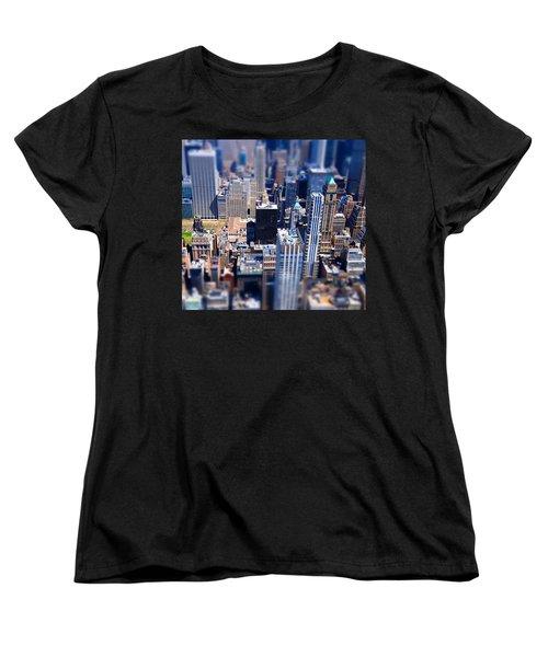 The City  Women's T-Shirt (Standard Cut) by Mckenzie Weldon