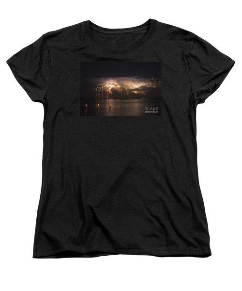 The Claw Women's T-Shirt (Standard Cut) by Quinn Sedam