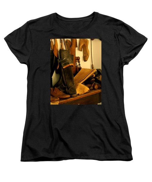 The Cobbler Women's T-Shirt (Standard Cut) by Ian  MacDonald